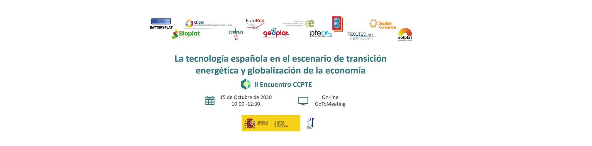 Save the Date - II Encuentro CCPTE